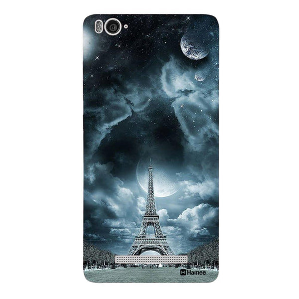 Blue Eiffel Redmi 3 / 3s Back Cover-Hamee India