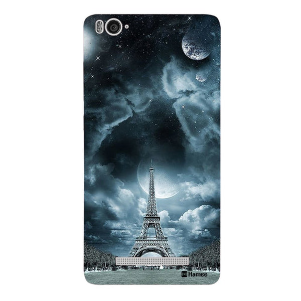 Hamee Blue Eiffel Designer Cover For Xiaomi Redmi 3-Hamee India