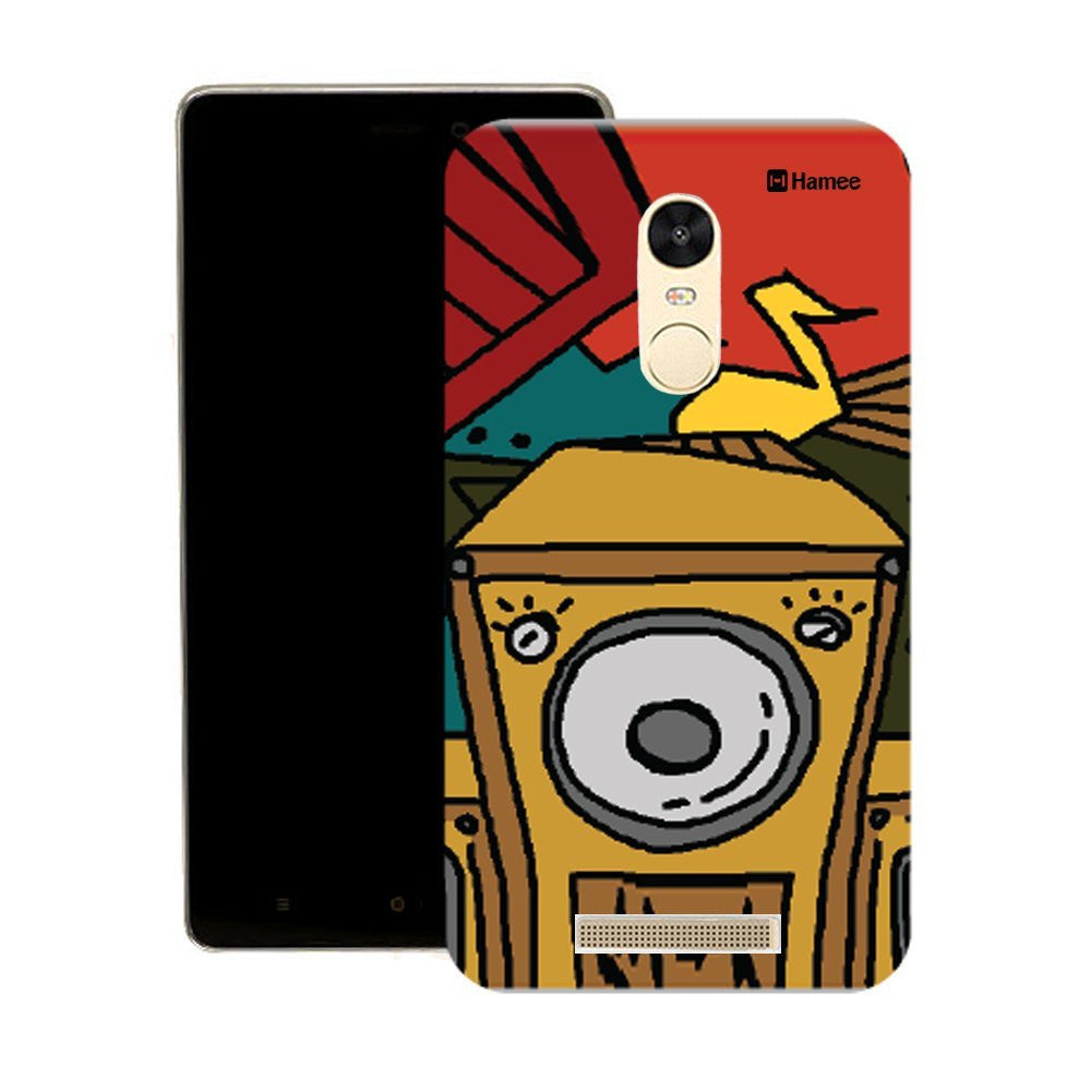 Hamee Boombox Front Designer Cover For Motorola Moto X Play - Hamee India