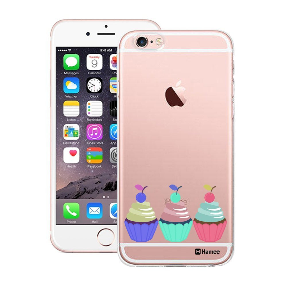 Hamee Three Cupcakes Designer Cover For Apple iPhone 6 Plus / 6S Plus - Hamee India