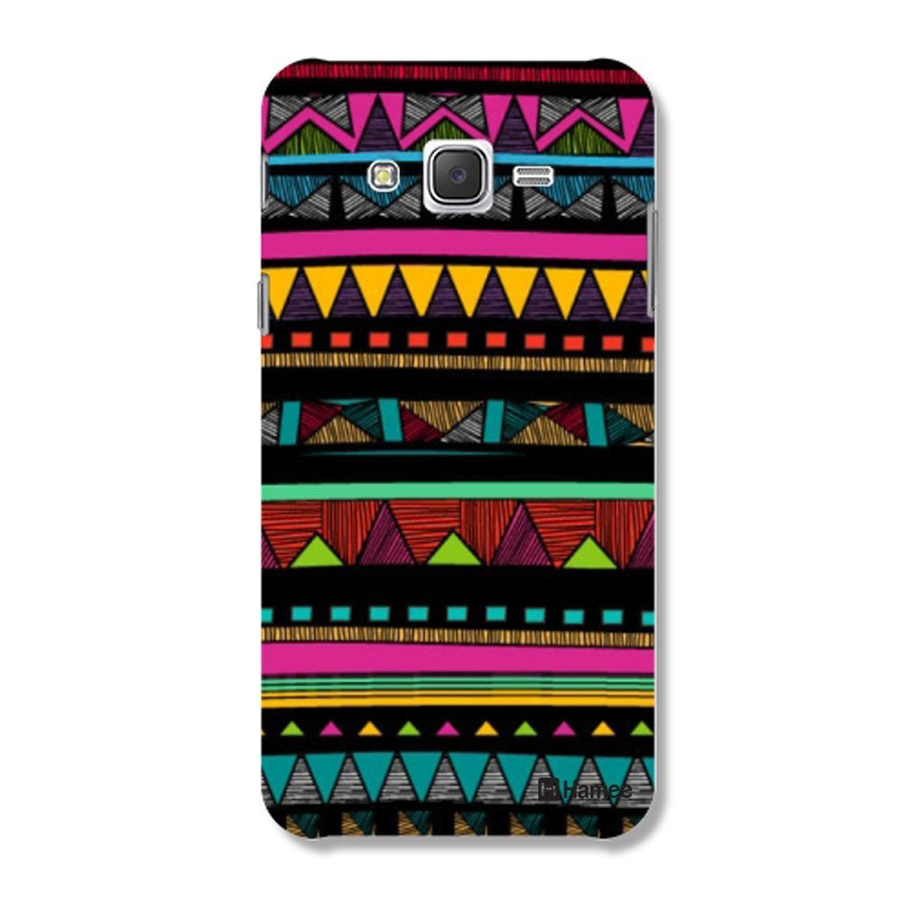 Hamee Tribal Print / Multicolour Designer Cover For Samsung Galaxy J7-Hamee India