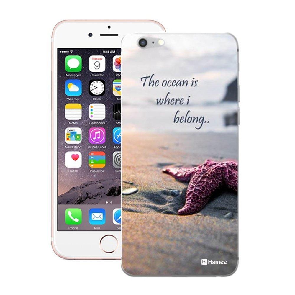 Hamee Ocean Quote Designer Cover For Apple iPhone 6 Plus / 6S Plus-Hamee India
