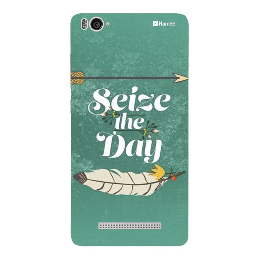 Hamee Seize The Day Designer Cover For Xiaomi Redmi 3-Hamee India
