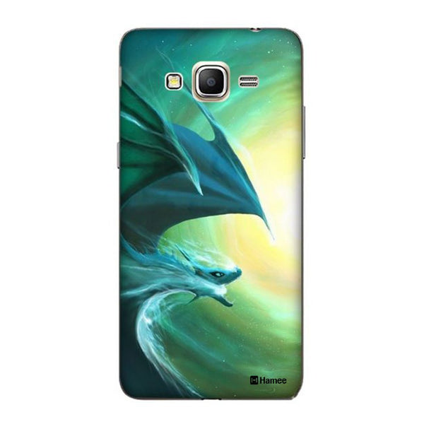 Hamee Blue Dragon Designer Cover For Samsung Galaxy J3 - Hamee India