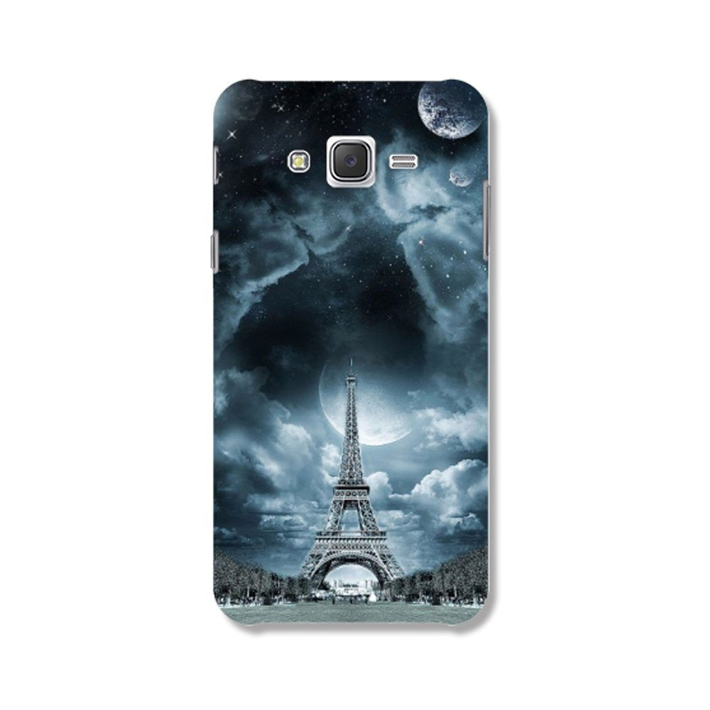 Hamee Eiffel Tower / Blue Designer Cover For Samsung Galaxy J7-Hamee India