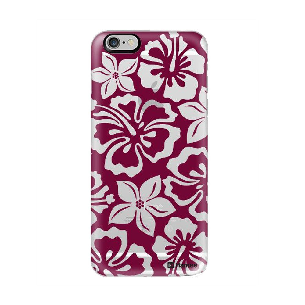 Hamee Full Flowers / Purple X White Designer Cover For iPhone 5 / 5S / Se-Hamee India