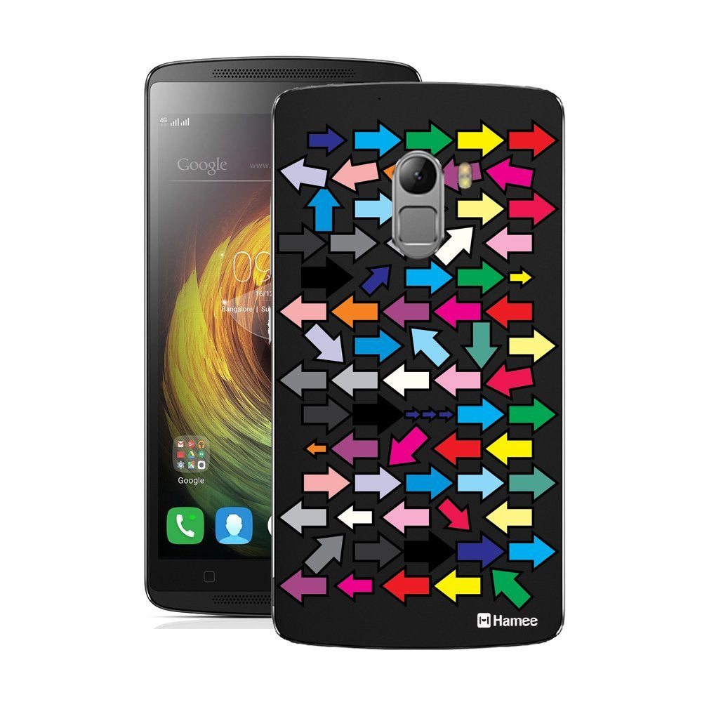 Hamee Multicolour Arrows Designer Cover For Lenovo K4 Note-Hamee India