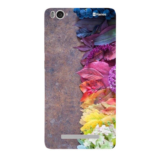 Flowers On Brown Redmi 3 / 3s Back Cover-Hamee India