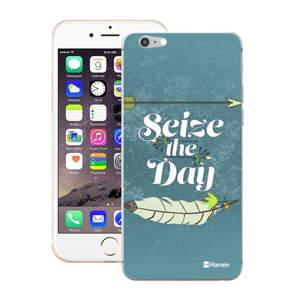 Hamee Seize The Day Designer Cover For iPhone 5 / 5S / Se-Hamee India