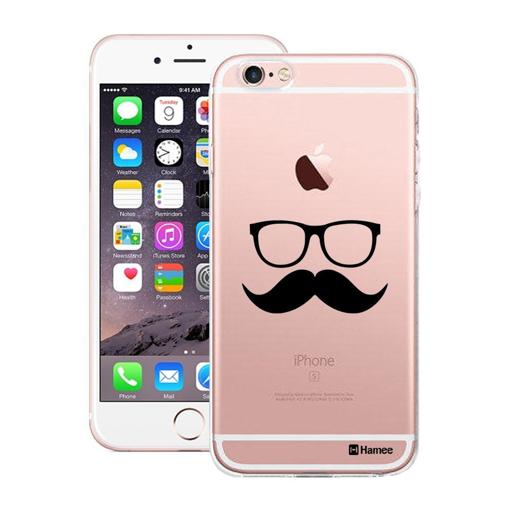 Hamee Moochie With Specs Designer Cover For Apple iPhone 6 / 6S-Hamee India