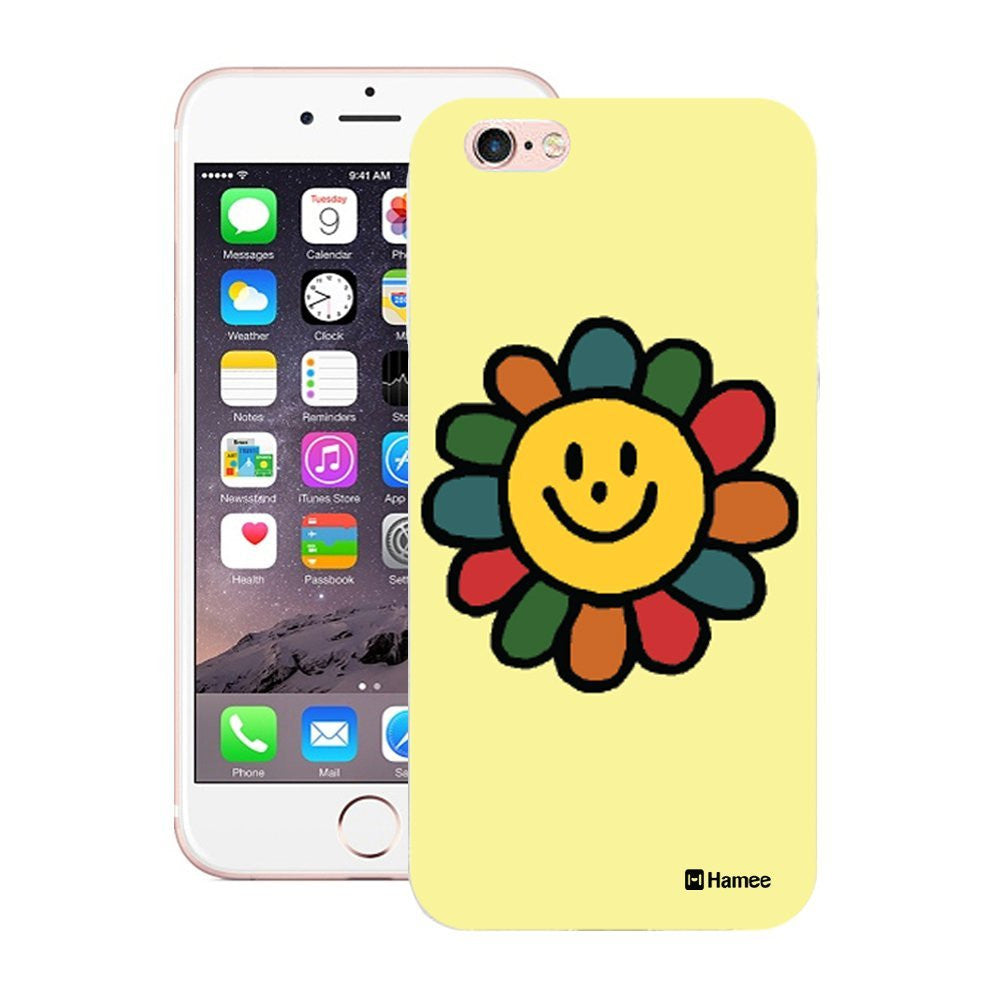 Hamee Happy Flower Designer Cover For iPhone 5 / 5S / Se - Hamee India