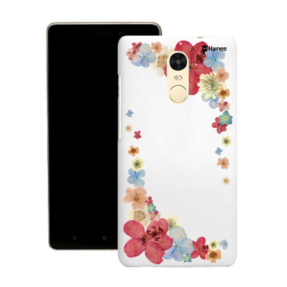 Hamee Red Corner Flowers Customized Cover for Motorola Moto G4 Plus-Hamee India