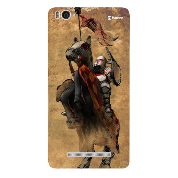 Hamee Brown Knight Designer Cover For Xiaomi Redmi 3-Hamee India
