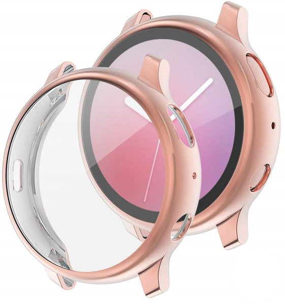 Full Cover TPU Bumper for Samsung Watch Active 40mm (Rose Gold)