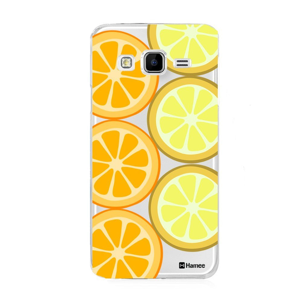 Hamee Oranges Designer Cover For Samsung Galaxy J7 - Hamee India