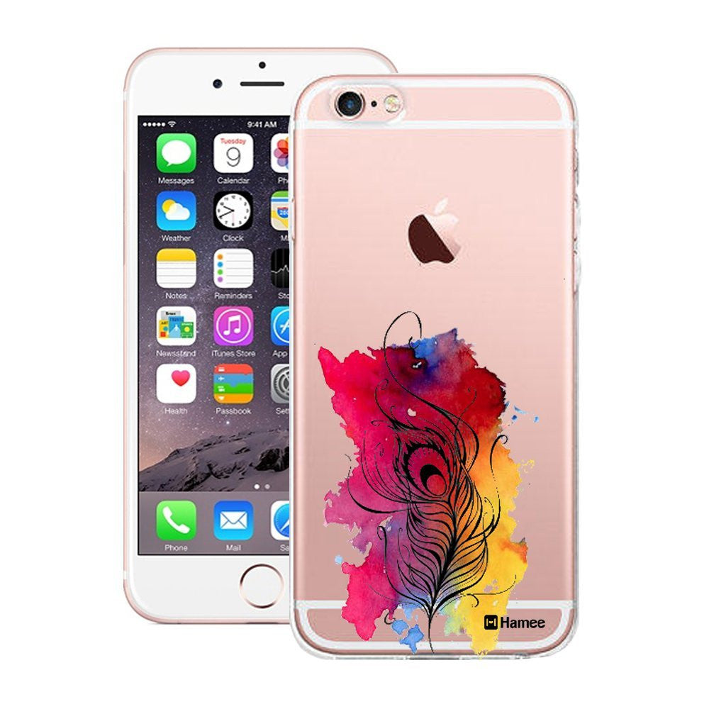Hamee Peacock Splash Designer Cover For Apple iPhone 6 / 6S - Hamee India