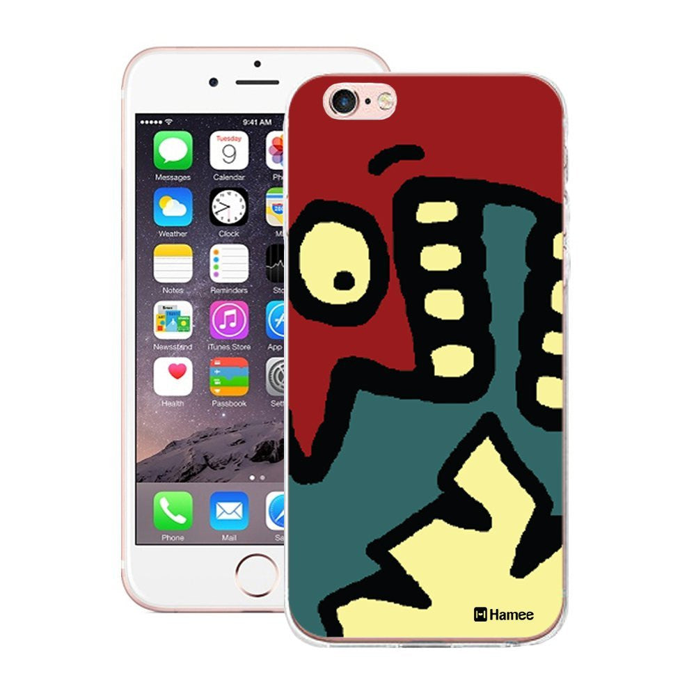 Hamee Designer  Hard Back Case for Apple iPhone 6  6s  (Shouting Face) - Hamee India