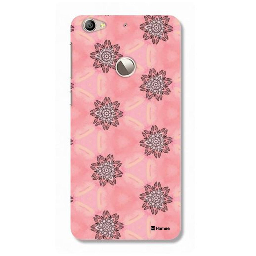 Hamee Ethnic Flowers On Pink Customized Cover for Letv Le 1S-Hamee India