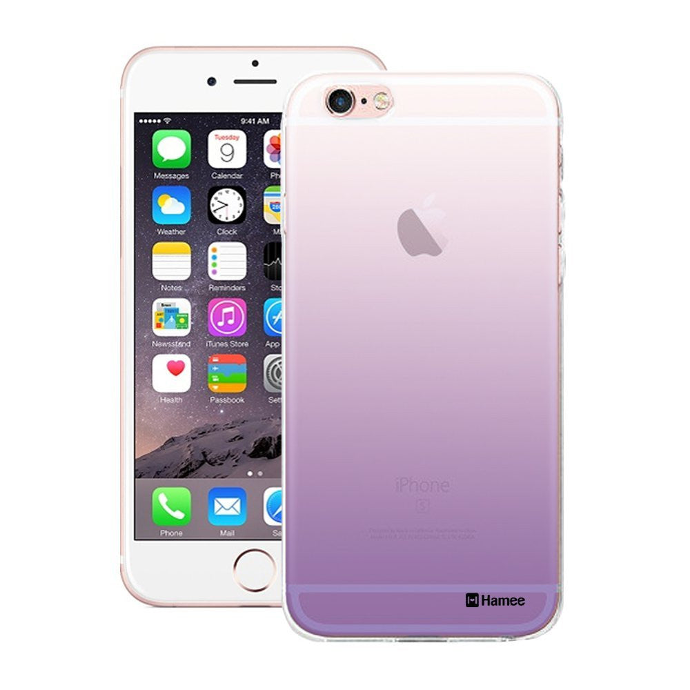Hamee Purple Ombre Designer Cover For Apple iPhone 6 / 6S-Hamee India
