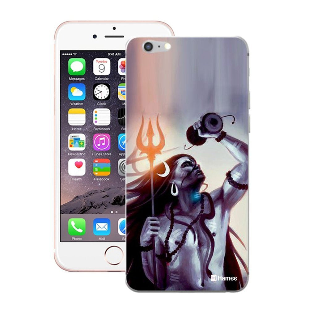 Hamee Powerful God Purple Designer Cover For iPhone 5 / 5S / Se-Hamee India