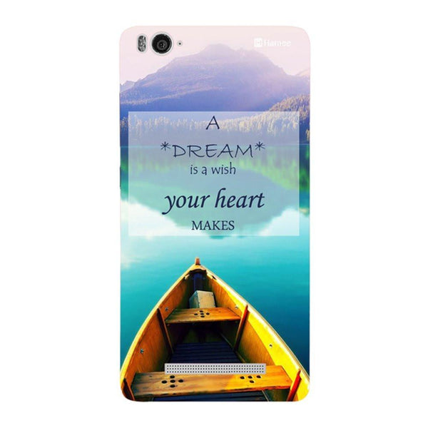 Dream Boat Redmi 3 / 3s Back Cover-Hamee India