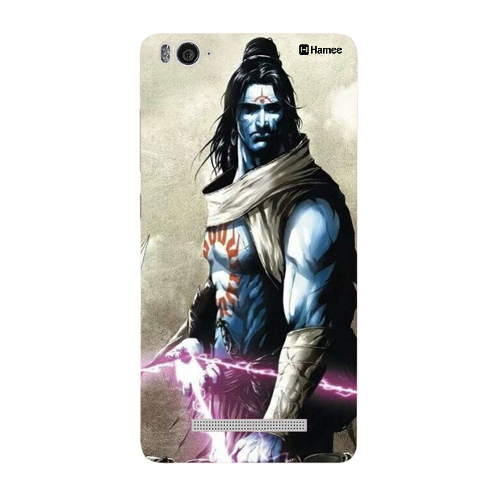 Hamee Shiva Side Pose Designer Cover For Xiaomi Redmi 3-Hamee India