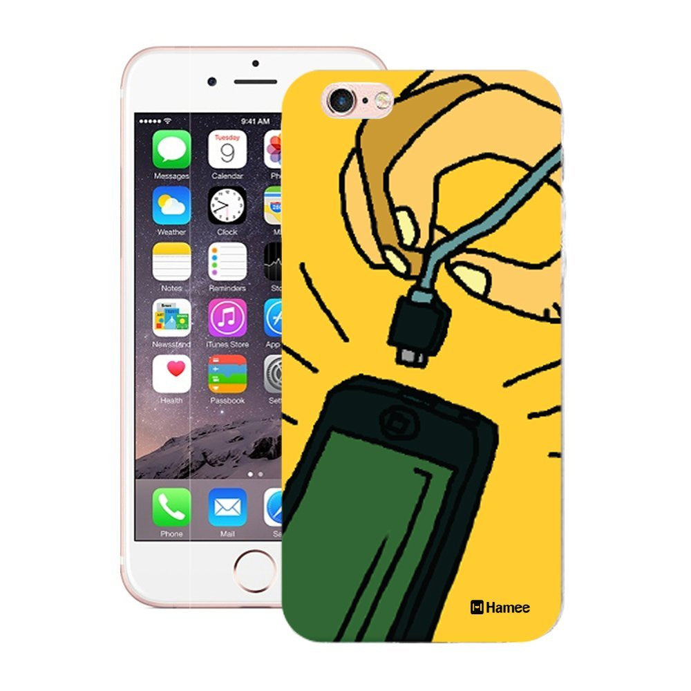 Hamee Phone Charger Print Designer Cover For iPhone 5 / 5S / Se-Hamee India