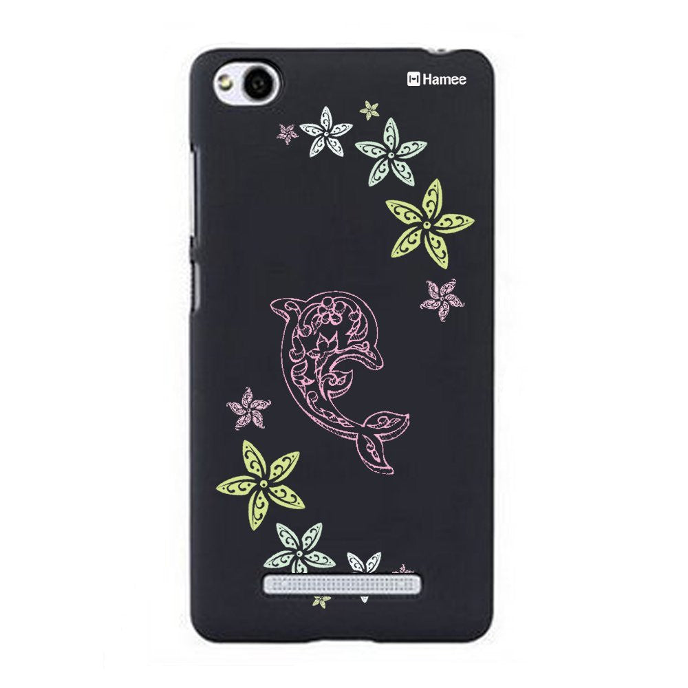 Hamee Dolphin Designer Cover For Xiaomi Redmi 3-Hamee India