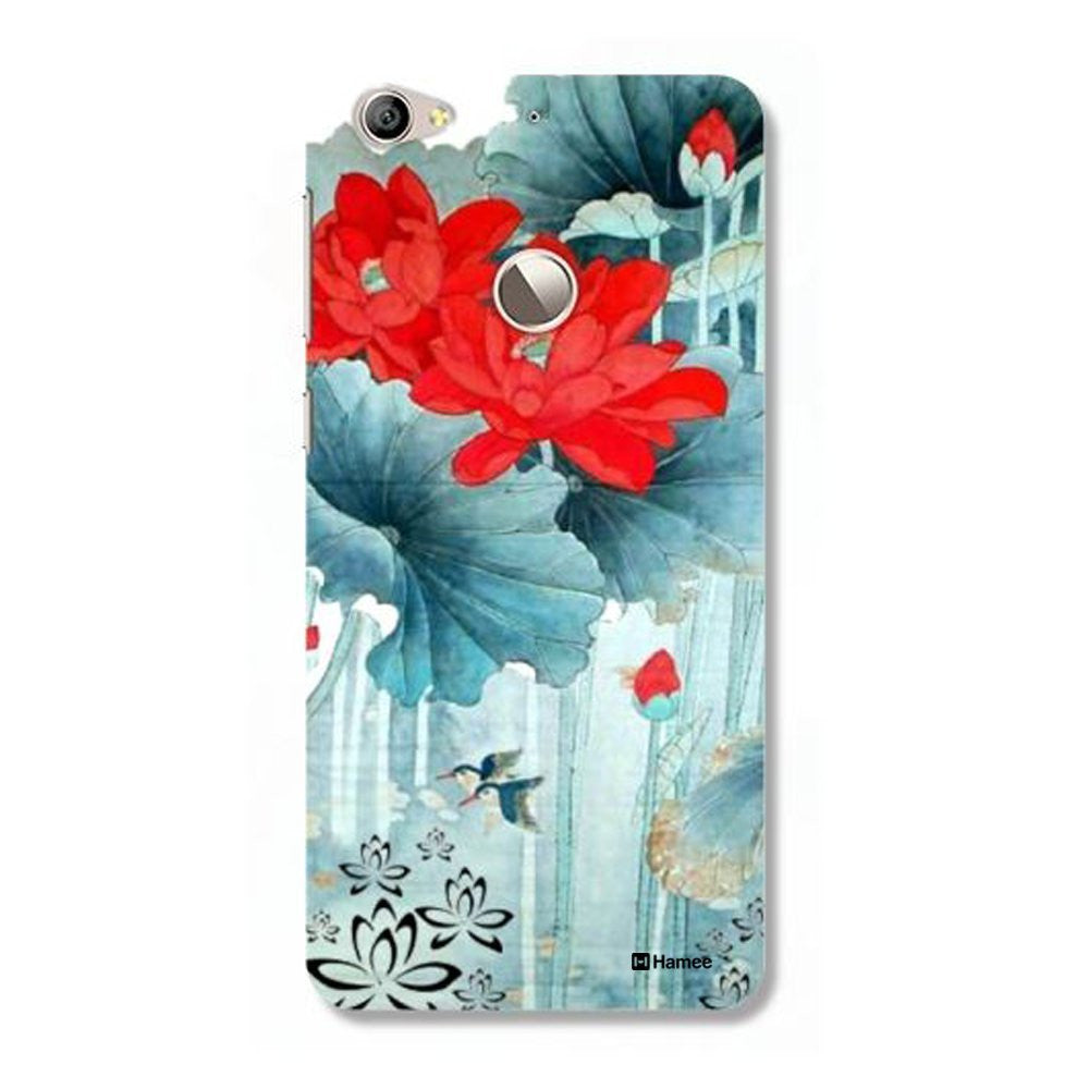 Hamee Garden / Blue Red Customized Cover for Letv Le 1S-Hamee India
