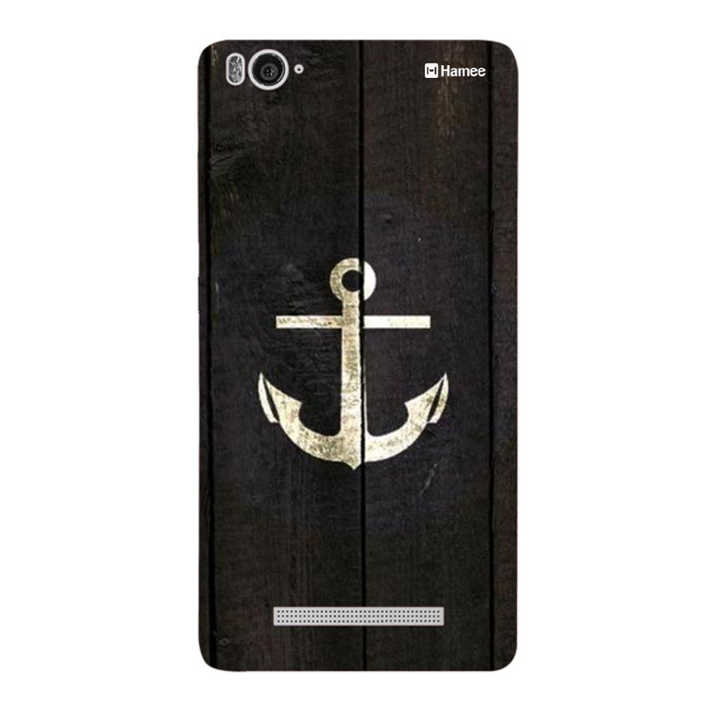 Hamee Gold Anchor Designer Cover For Xiaomi Redmi 3-Hamee India