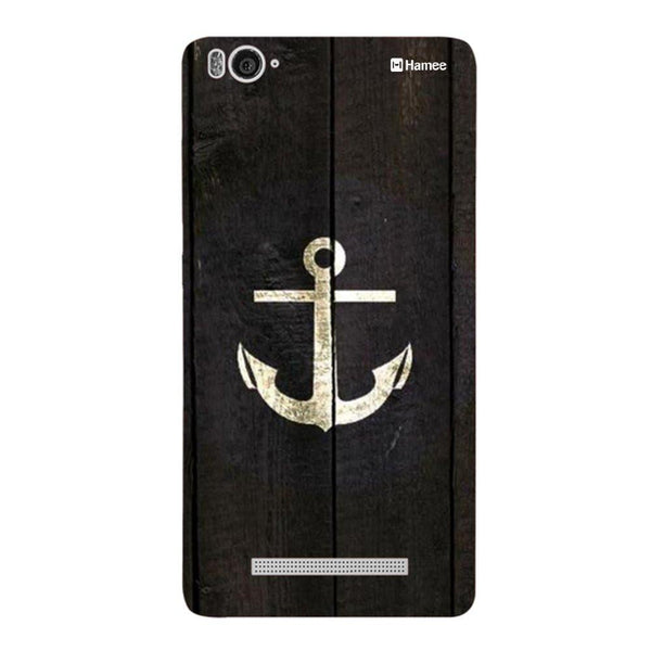 Gold Anchor Redmi 3 / 3s Back Cover-Hamee India