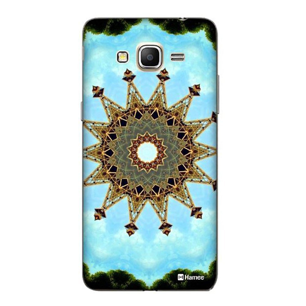 Hamee Eiffel Tower Kaleidoscope Designer Cover For Samsung Galaxy J7-Hamee India