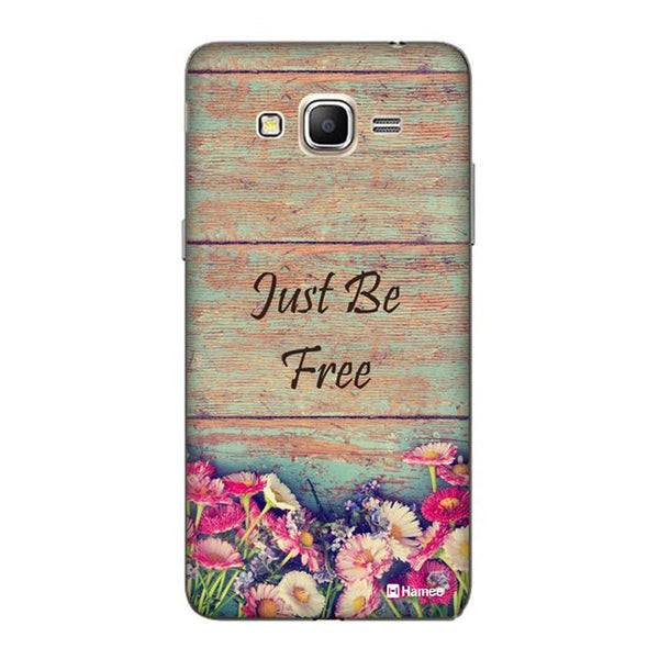 Hamee Brown Just Be Free Designer Cover For Samsung Galaxy J3 - Hamee India
