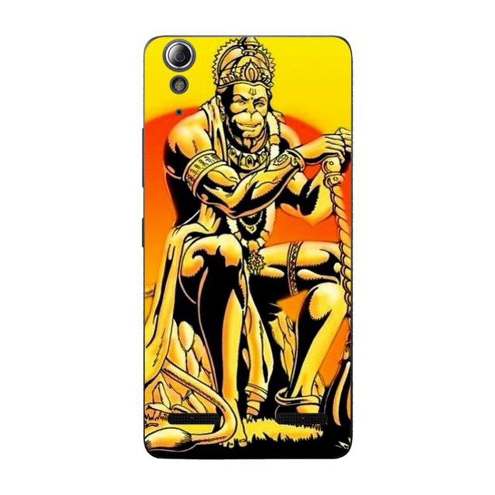 Hamee Hanumanji / Yellow Designer Cover For Lenovo A6000 / A 6000 Plus - Hamee India