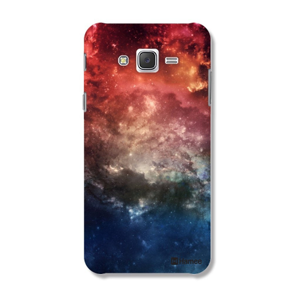 Hamee Space / Multicolour Designer Cover For Samsung Galaxy J7-Hamee India