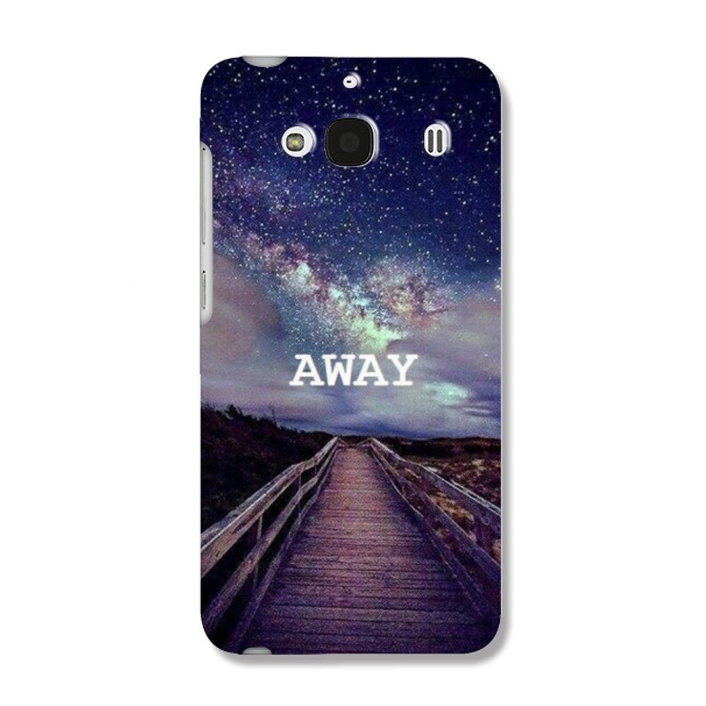 Hamee Away / Multicolour Designer Cover For Xiaomi Redmi 2 / 2 Prime-Hamee India