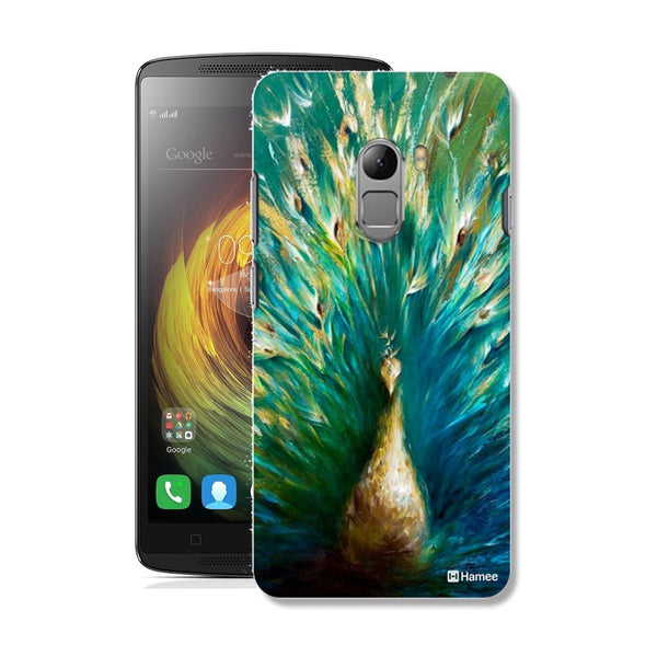 Hamee Beautiful Peacock / Blue X Green Designer Cover For Lenovo K4 Note - Hamee India