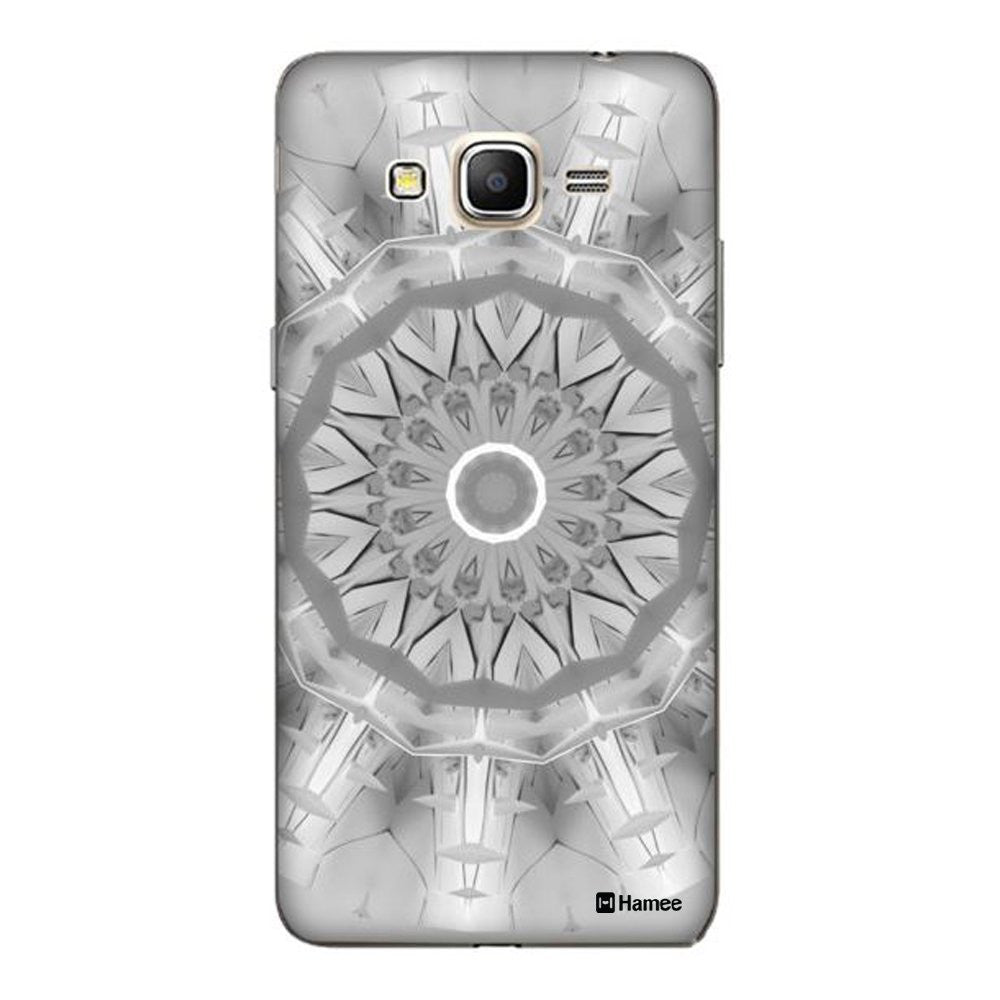 Hamee Grey Kaleidoscope Designer Cover For Samsung Galaxy J7-Hamee India