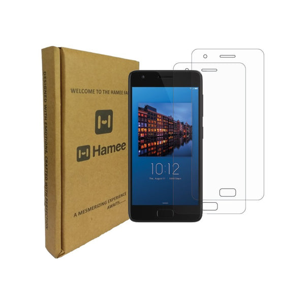 Hamee 9H Scratch Resistant Screen Guard for Moto Z2 Plus (Set of 2)-Hamee India