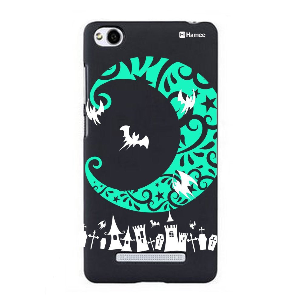 Hamee Green Moon Designer Cover For Xiaomi Redmi 3-Hamee India