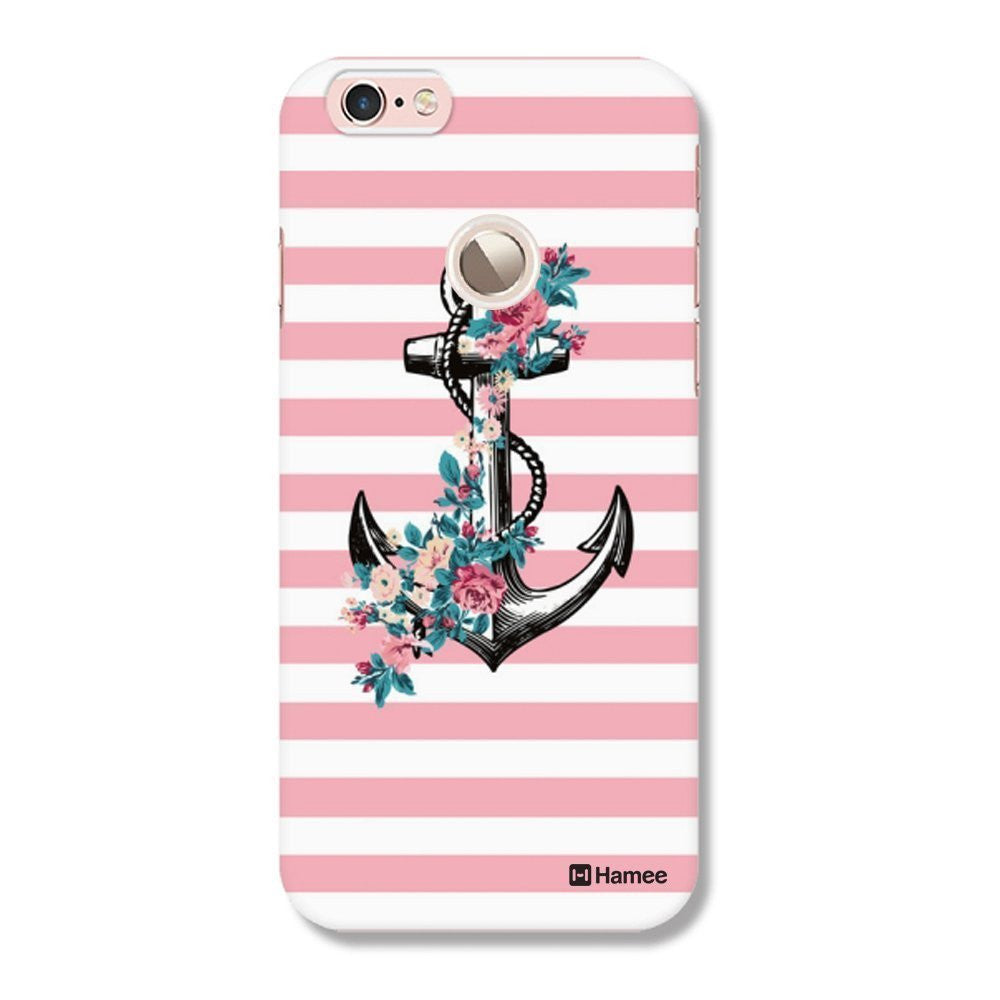 Hamee Pink White Anchor Customized Cover for Letv Le 1S-Hamee India