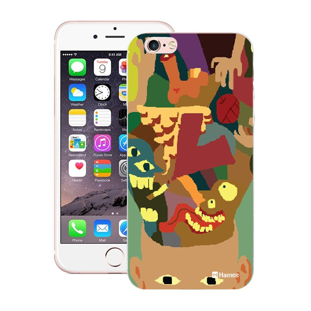 Hamee Bursting Head Designer Cover For Apple iPhone 6 Plus / 6S Plus-Hamee India