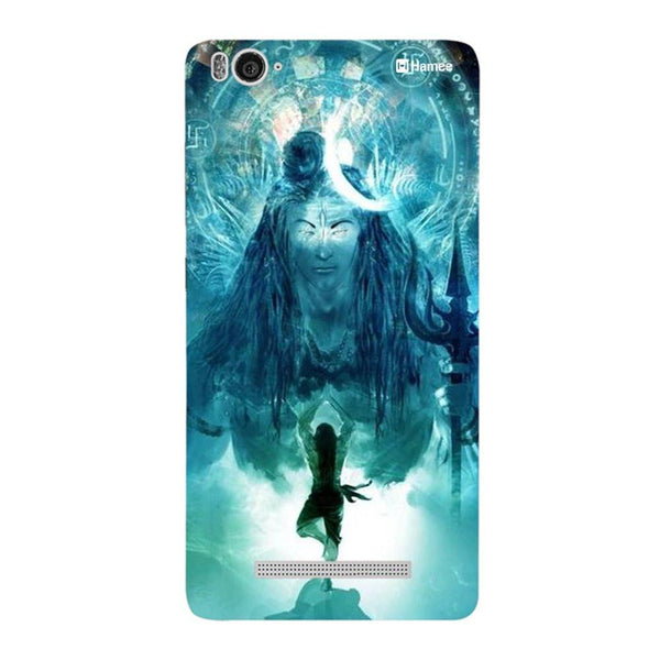 Blue Standing God Redmi 3 / 3s Back Cover-Hamee India