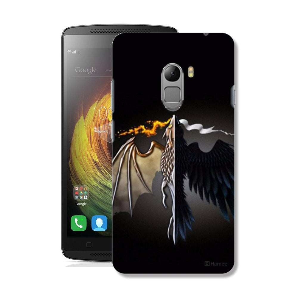 Hamee Flying Beast / Black Designer Cover For Lenovo K4 Note-Hamee India