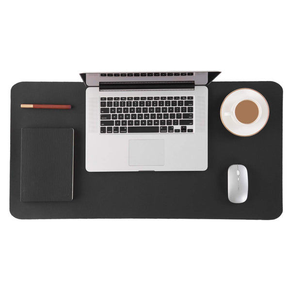 Black - XXL Leather Mouse Pad / Desk Pad