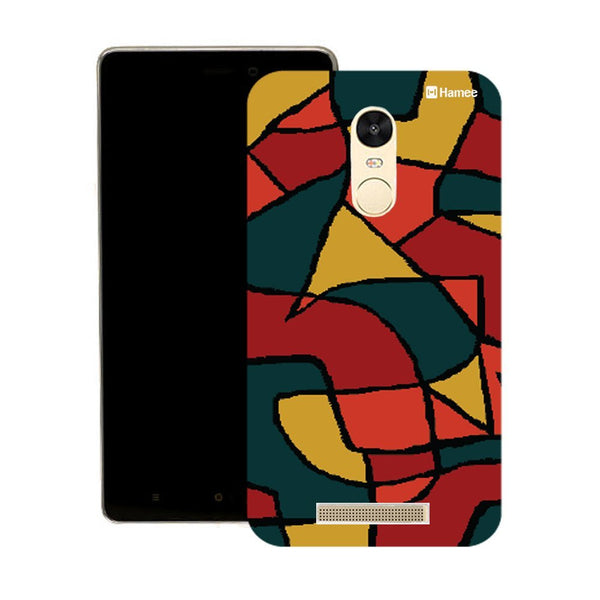 Hamee Big Print Abstract Designer Cover For Motorola Moto X Play - Hamee India