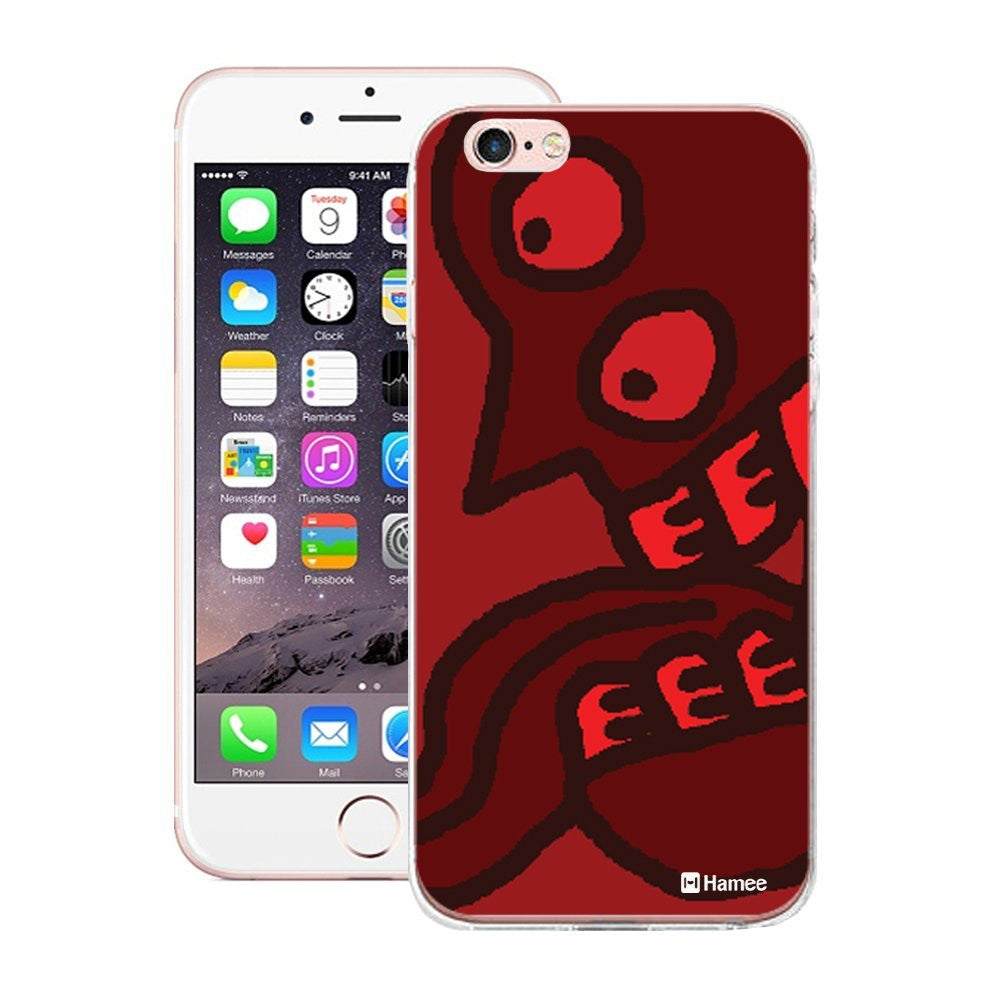 Hamee Red Tongue Designer Cover For Apple iPhone 6 Plus / 6S Plus - Hamee India
