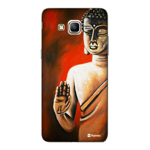 Hamee Buddha Blessings Designer Cover For Samsung Galaxy J3 - Hamee India