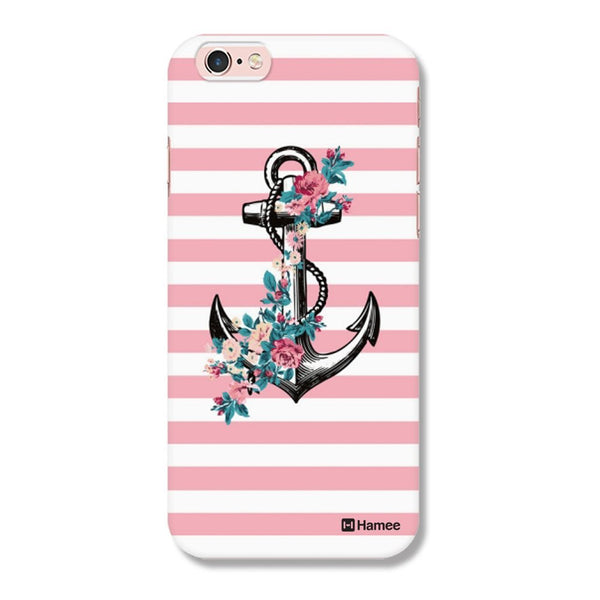 Hamee Anchor / Pink X White Designer Cover For Apple iPhone 6 Plus / 6S Plus - Hamee India