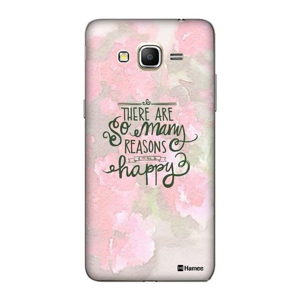 Hamee Pink Happy Floral Designer Cover For Samsung Galaxy J7-Hamee India
